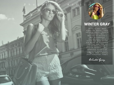 Winter Gray Photoshop Action winter gray photoshop action winter gray photo effect 10 off creative discount best deal best selling photoshop overlays effects lightroom presets editing photography photoshop action photographers graphic design design campaign