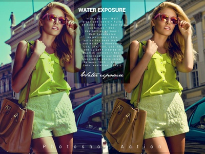 Water Exposure Photoshop Action water exposure photoshop action water exposure photo effect 10 off creative discount deal best best selling photoshop overlays effects editing lightroom presets photography photoshop action photographers graphic design design campaign