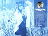 Wanted Photoshop Action