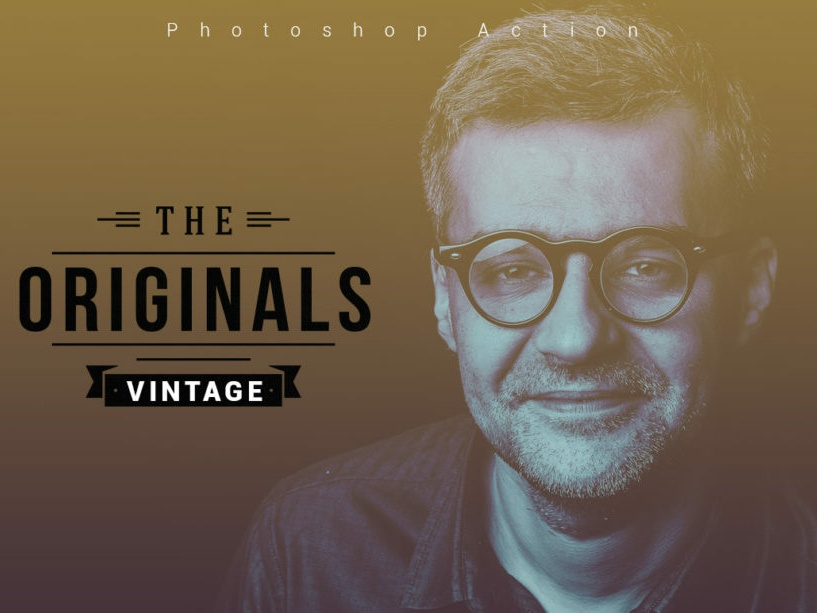 The Originals Vintage Photoshop Action the originals photo effect 10 off creative discount deal best best selling photoshop overlays effects lightroom presets editing photography photoshop action photographers graphic design design campaign