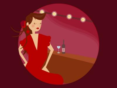 Girl'n' wine