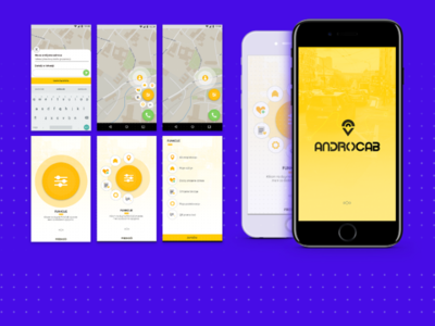 Cab tracking app