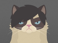 30 Minute Challenge: Me as Grumpy Cat