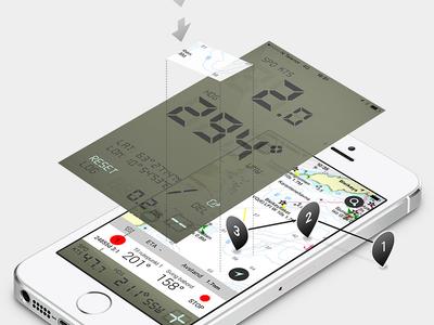 Sea Navigation app for Eniro