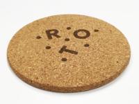 Coaster for ROT Vin & Brød