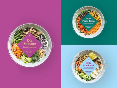 Modern Greens / packaging identity moderngreens heymoderngreens