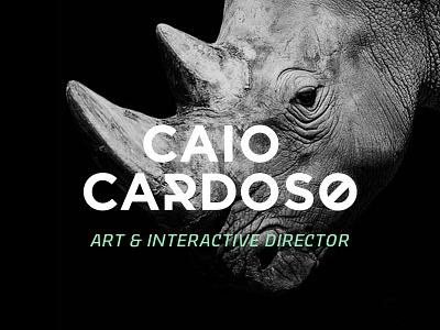 New personal logo logo logotype rhino identity brazil brasil logodesign design personal visual identity