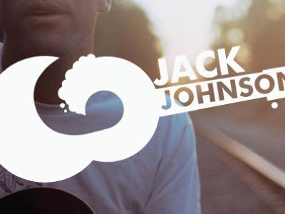Musical Rebrand branding jack johnson guitar waves surfing logo