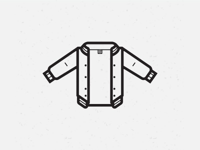 Members Only only members jacket illustration