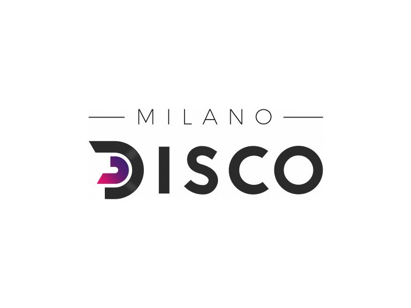 Milano disco logo by alioune thiam dribbble for Disco in milano