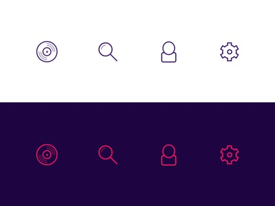 Some line icons