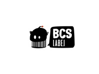 BCS label logo bot concept art direction branding logo vector digital illustration bar code