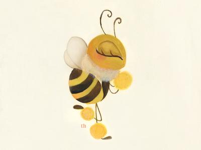 Bee Warm illustration