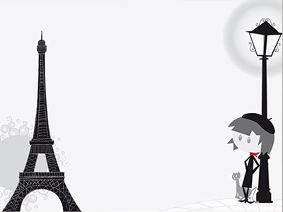 I Love Paris vector illustration
