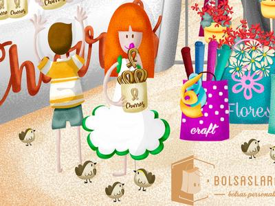 Ginger_cover detail digital illustration