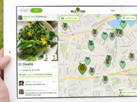 WildFood Map App