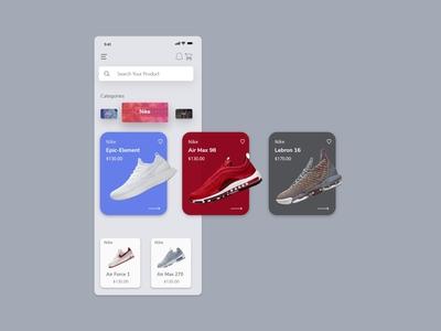 Shoe Ecommerce app