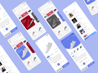 shoe Ecommerce app 2