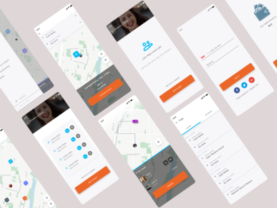 citikab app redesign