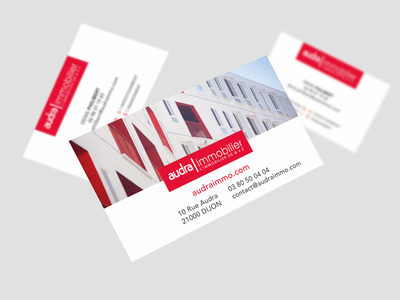 Audra Immobilier france realestate immobilier graphic design logo branding graphism design