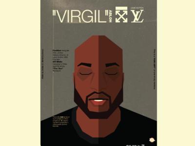 """""""VIRGIL ABLOH"""" poster"""