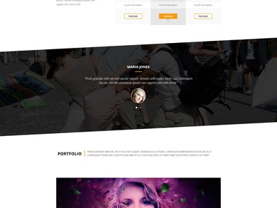 Freebie PSD:  MINI OnePage Creative Template  onepage psd agancy freebie minimal flat singlepage web template freedownload mini creative landing page