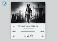 Foucs WordPress Audio Player Plugin