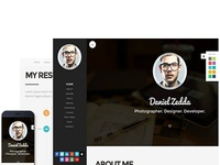 ME - Multipurpose Resume & One Page Portfolio Wordpress Theme