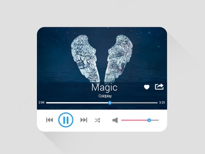 Music Player design ui audio web jplayer widget music music player jquery