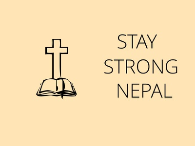Stay Strong Nepal (2) strong nepal art design poster human help pray nepalearthquake prayfornepal