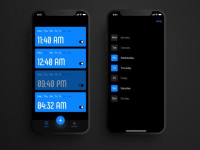 Alarm app from Bloomy Lab