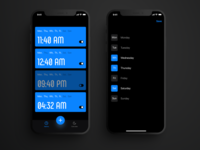 Alarm app from Bloomy Lab