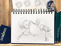 Cupcake Character Study