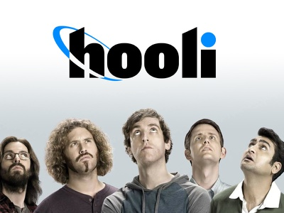 HBO Silicon Valley -- Hooli Logo tv show brand silicon valley identity logo hbo