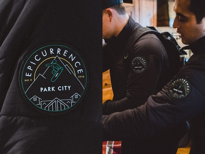 Epicurrence No.3 Patagonia Jackets event conference jacket identity badge logo patch