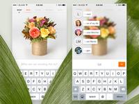 Bloomthat iPhone App —Sending