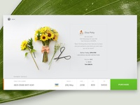 Bloomthat.com Credit Card Form