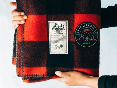 Event Patch —Epicurrence No.4 Moab epicurrence schwag identity logo emblem badge patch swag conference event blanket