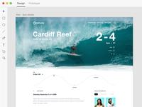 Onshore —Website Design in Xd