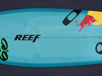 Dann surfboard
