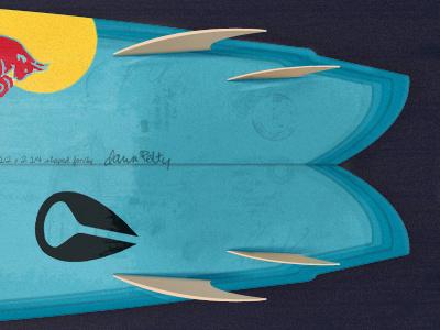 my dream surfboard surf surfboard texture fins logos stickers photoshop illustration red bull oakley nixon quiksilver reef nike