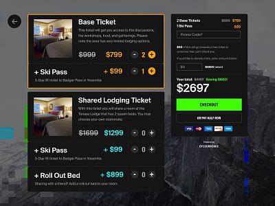 Ticket Platform for Events shopping app platform tickets conference events