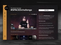 Join the #SPACEDchallenge (Winners get MacBook Pro)