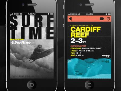 Surftime dribbble