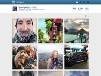 Instagram profile nocomments