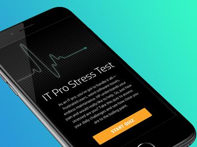 Interactive Design - Stress Test