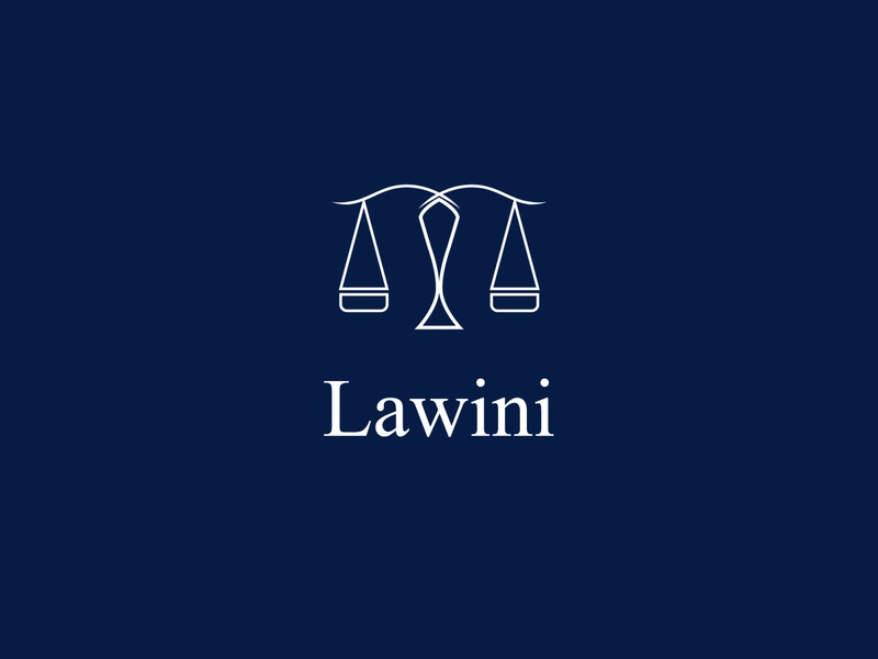 LawIni Lawyer and Court Consulting business logo design logotype brand design consulting lawyer logo lawyers law court rule design branding illustration logo