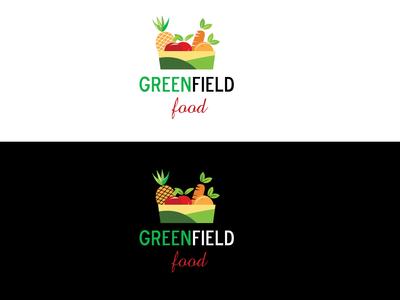 Food company and farming logo