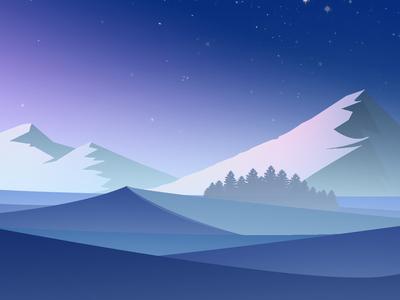 Winter Alone