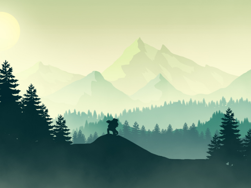 Fantasy Landscape Vector Art Struggle By Md Said On Dribbble